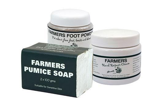 Farm Soap, Cream & Foot Powder
