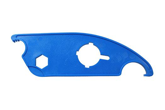 AJS2055 Teat Spray Spanner Blue