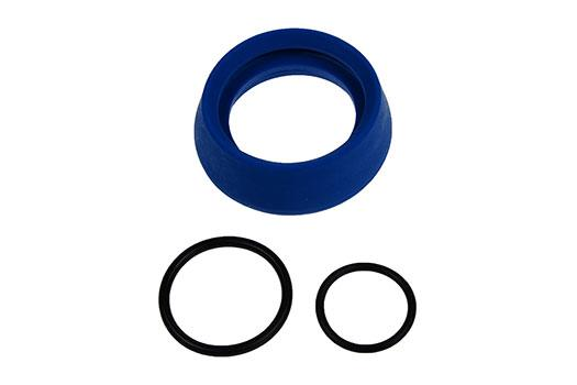 AMS208 MilkSampler Bottle Collar Ou2019 Ring Spares Pack