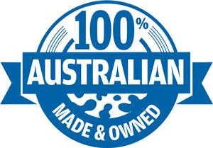Australian owned made logo