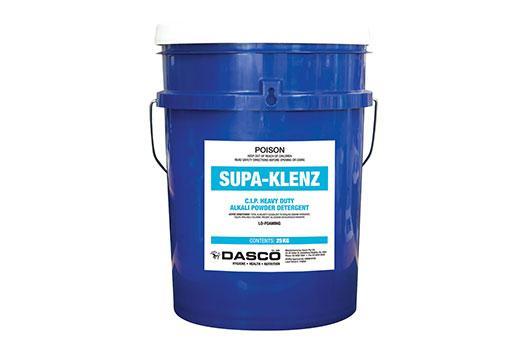 Supa Klenz C I P Heavy Duty Alkali Dairy Detergent Dasco